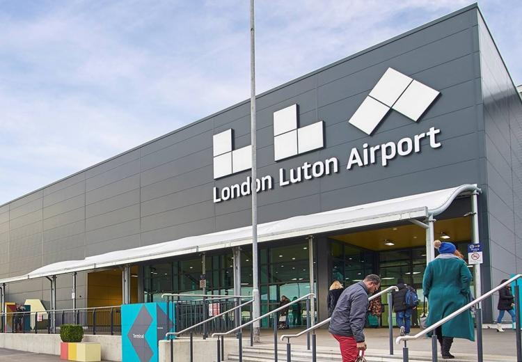 Passenger Numbers Fall by Two Thirds at London Luton Airport